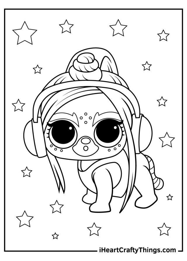 LOL Surprise Pets Coloring Pages (Updated 14)