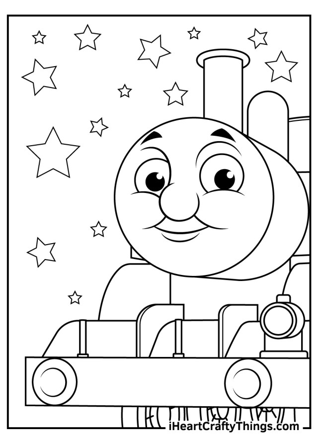 Printable Thomas The Train Coloring Pages (Updated 17)