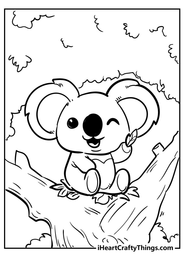 Cute Animals Coloring Pages (Updated 27)