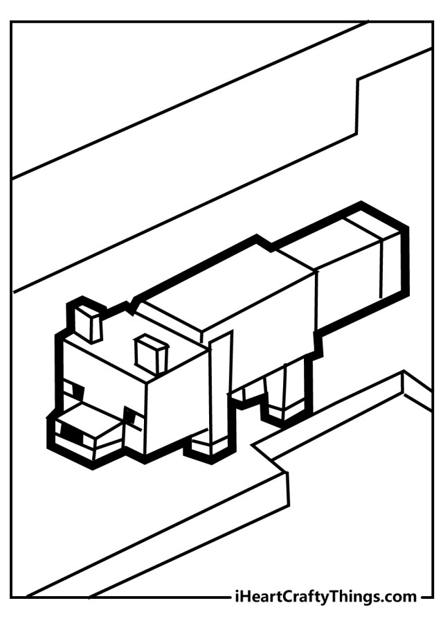 Minecraft Coloring Pages (Updated 14)