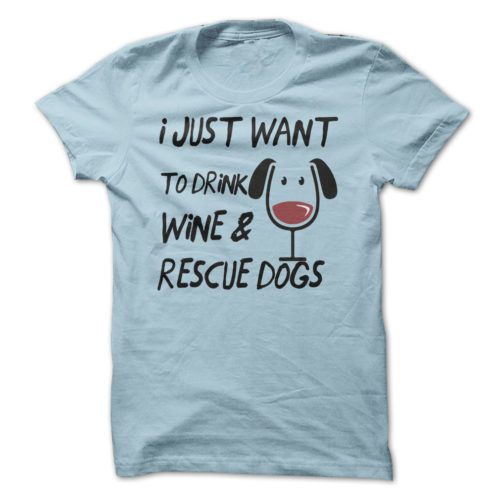 Drink Wine Rescue Dogs