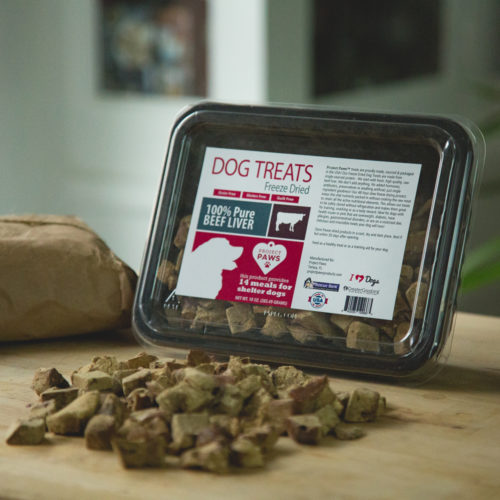 100% Pure Freeze Dried Beef Liver Treat VALUE Pack (10 oz): Treat Your Dog, Treat a Shelter Dog!
