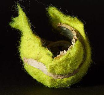 safer tennis ball substitute