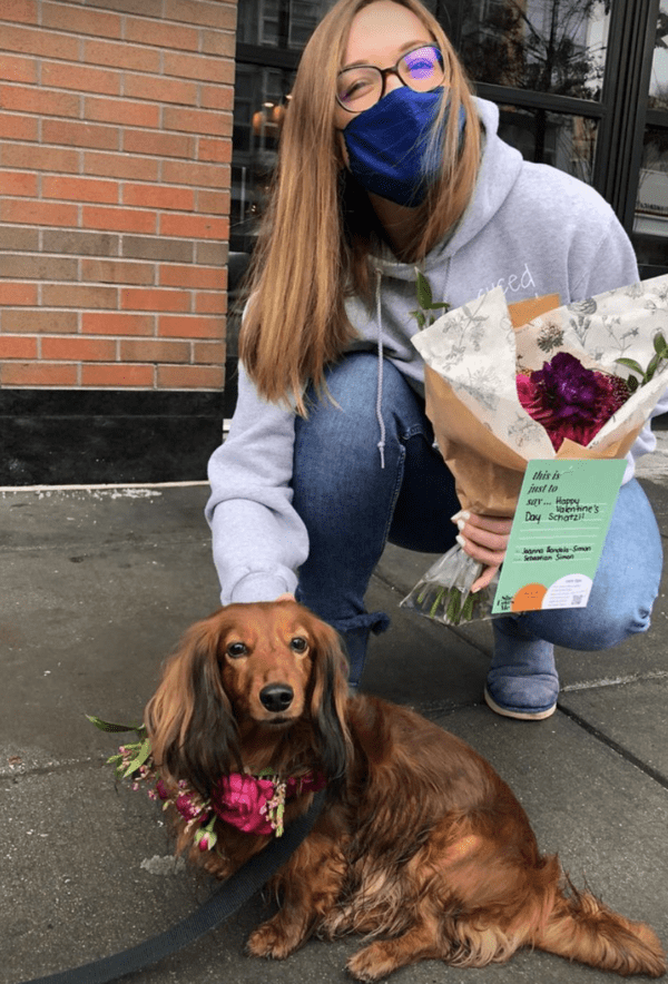 Rescue Dog Flower Delivery