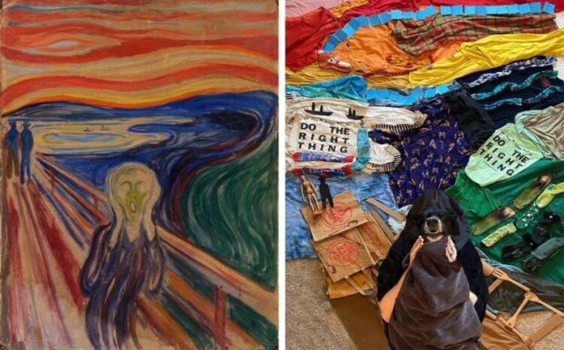 The Scream recreation