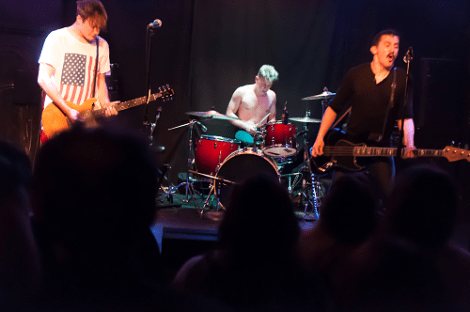 The Dirty Nil. Photo by Mike Radd.