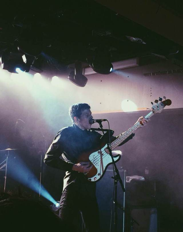 Tokyo Police Club. Photo take with iPhone.