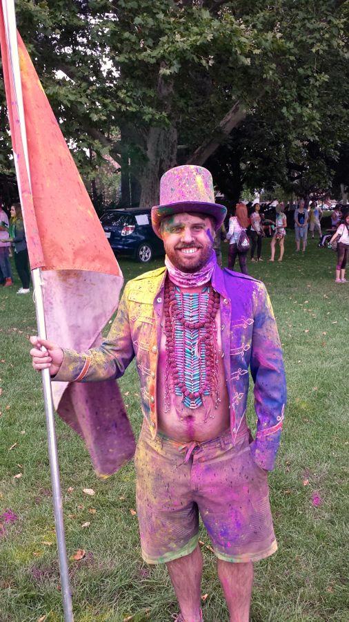 Organizer Mark Gowland