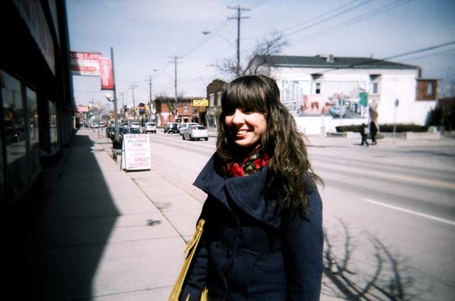 Ottawa Street. Taken with disposable camera.