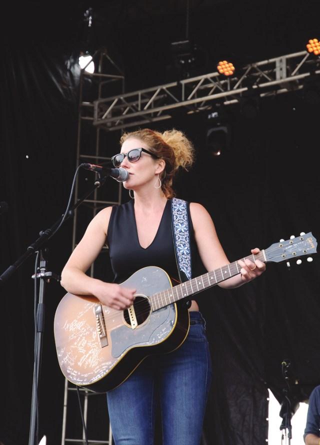 Kathleen Edwards performing at Harvest Picnic 2015