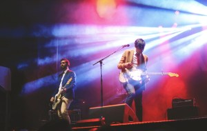 Arkells performing at Harvest Picnic 2015