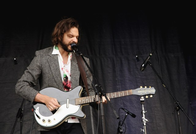 Aron D'Alesio performing at Supercrawl 2015