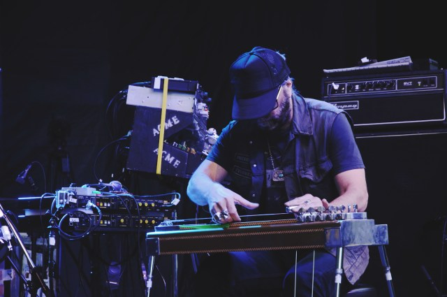 Daniel Lanois performing at Supercrawl 2015