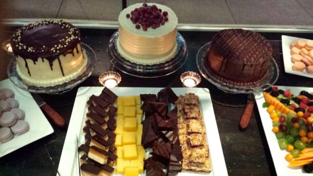 Desserts at Lake Road Restaurant