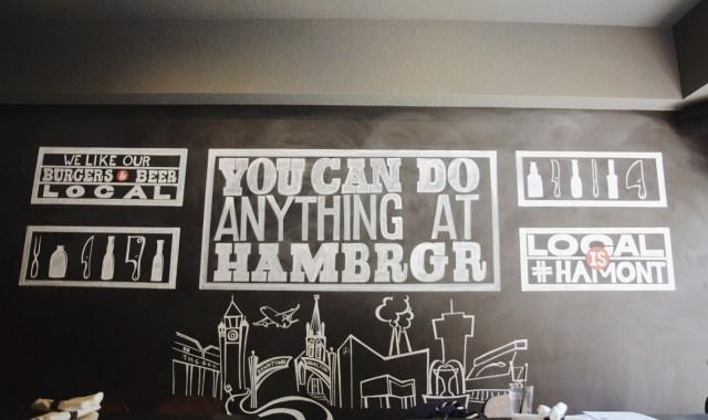 Hambrgr. Photo by Lisa Vuyk