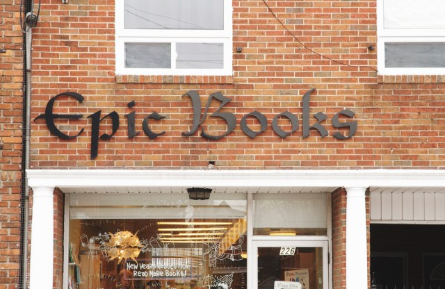 Epic Books. Photo by Lisa Vuyk