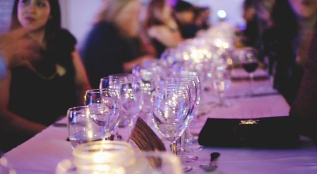 Table set at Pop Up Hamilton event. Photo by Lisa Vuyk