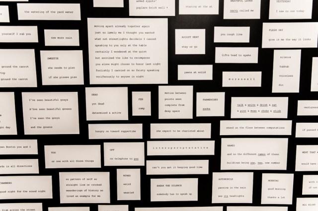 The Printed Word. Photo by Lisa Vuyk