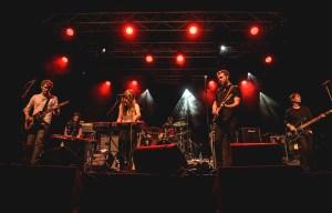 Fast Romantics performing at Supercrawl 2016. Photo by Lisa Vuyk