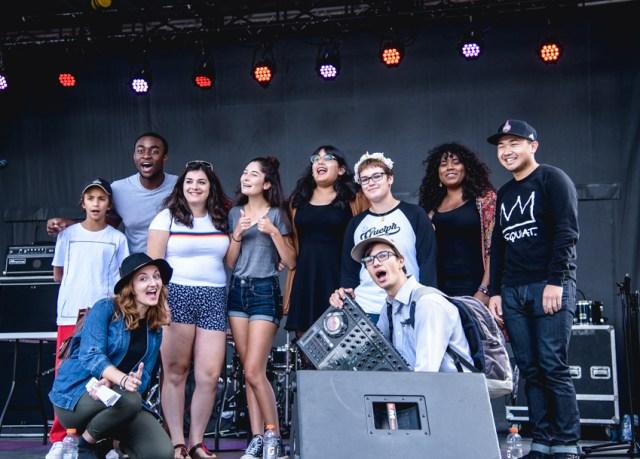 Hamilton Youth Poets. Photos by Lisa Vuyk