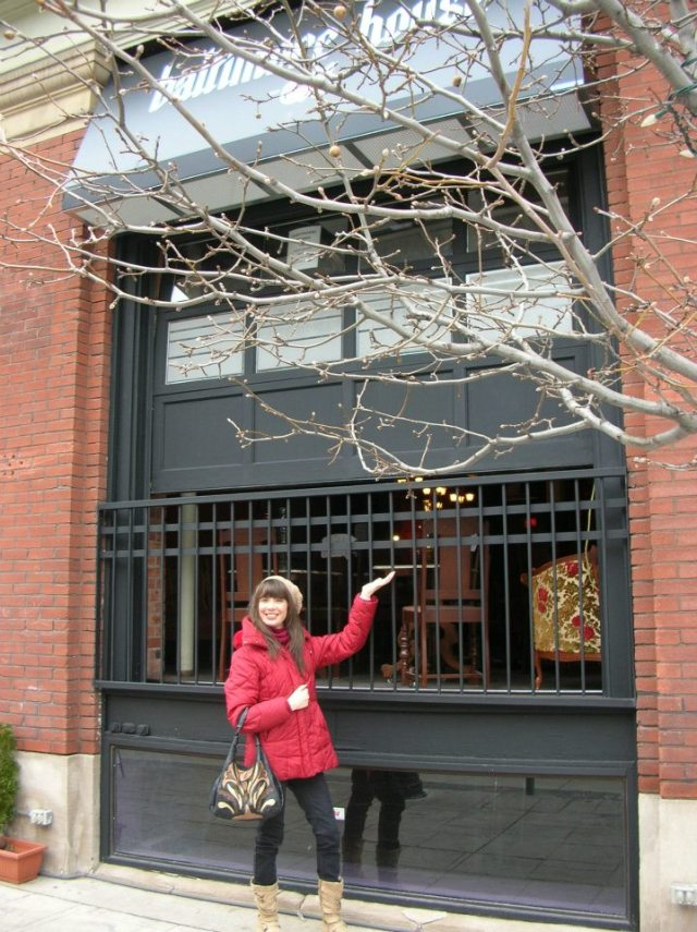 Kristin Archer's first visit to The Baltimore House - December 19, 2011