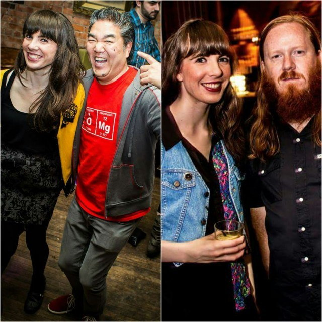 Kristin Archer with Mark Furukawa and Andy Inglis. Photos by Sean William O'Neill