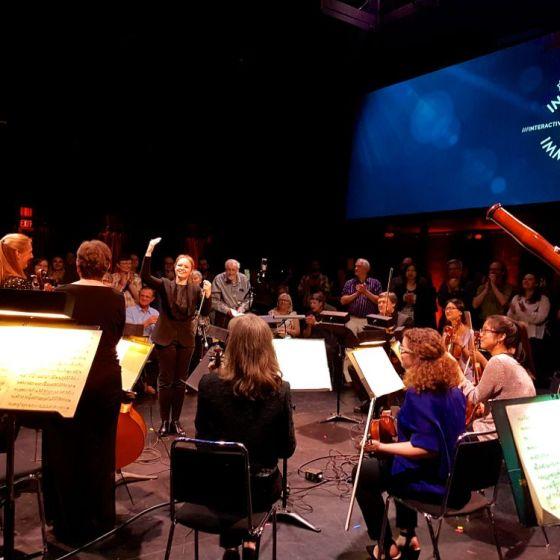 Gemma New with Hamilton Philharmonic Orchestra