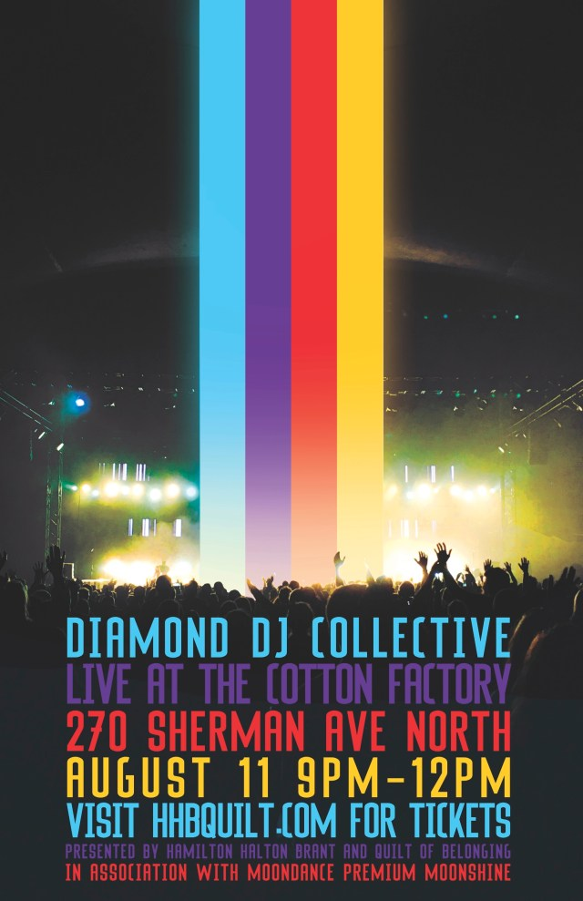 Diamond DJ Collective Aug. 11 at The Cotton Factory