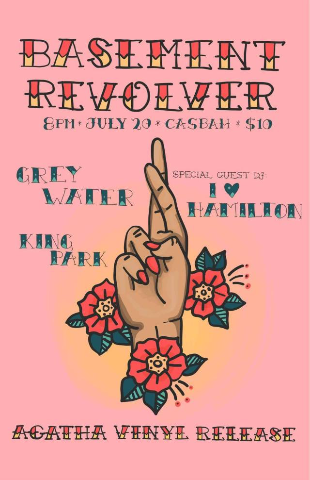 Basement Revolver EP Release show