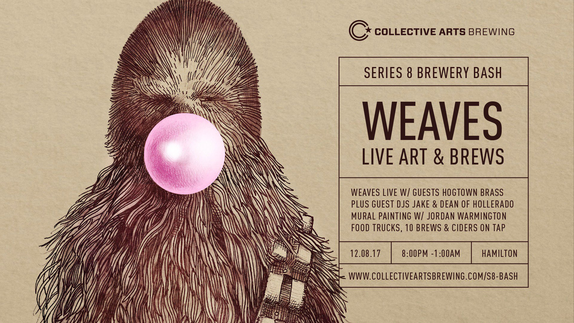 Collective Arts Series 8 launch party