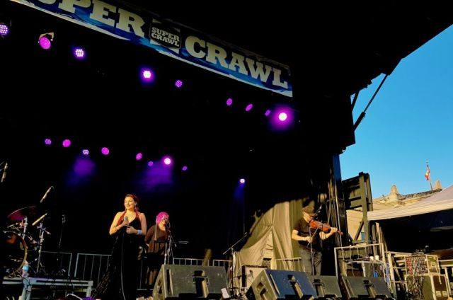 Tanya Tagaq at Supercrawl 2017