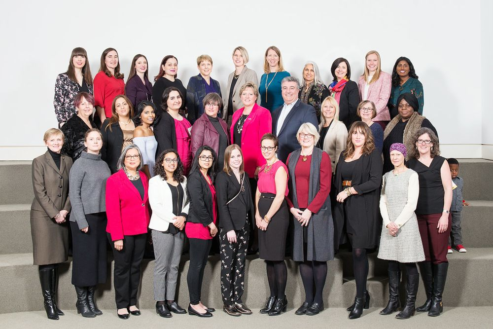 Nominees of the 2018 YWCA Hamilton Women of Distinction Awards. Photo by Paulina Rzeczkowska