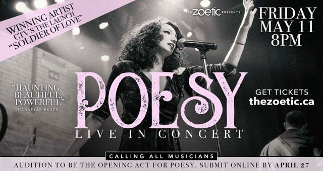 Poesy at The Zoetic