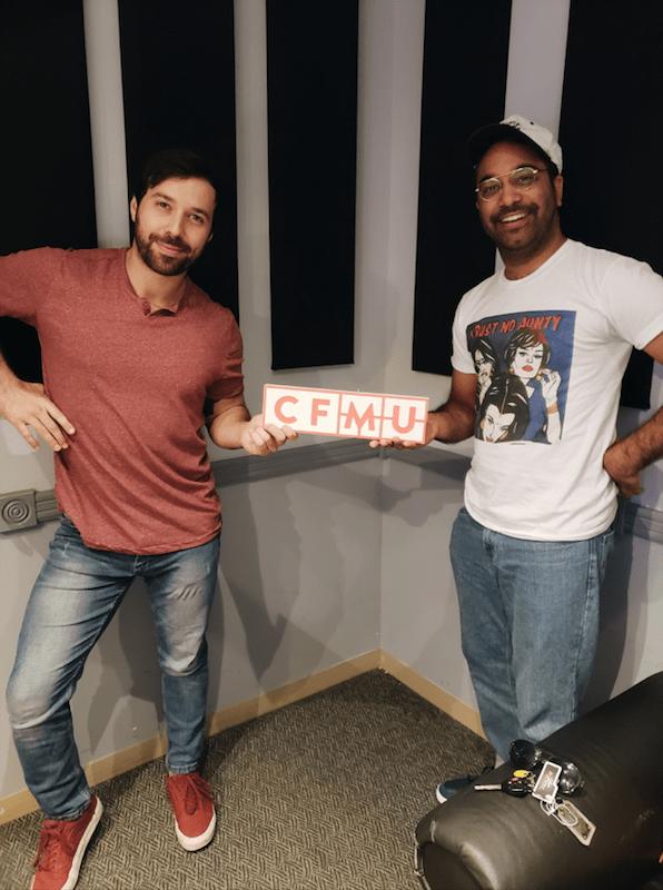 Kym Wyatt McKenzie and Darren Menezes of Smooth Comedy