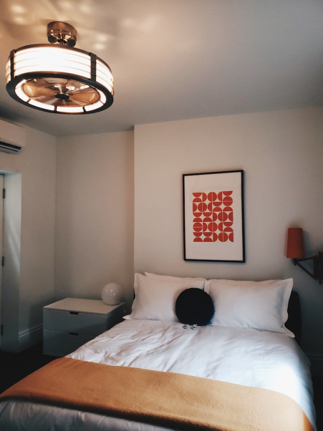 Bedroom in The Aberdeen Suite at Bellwether House