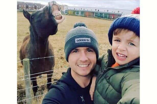 Horse-Selfie