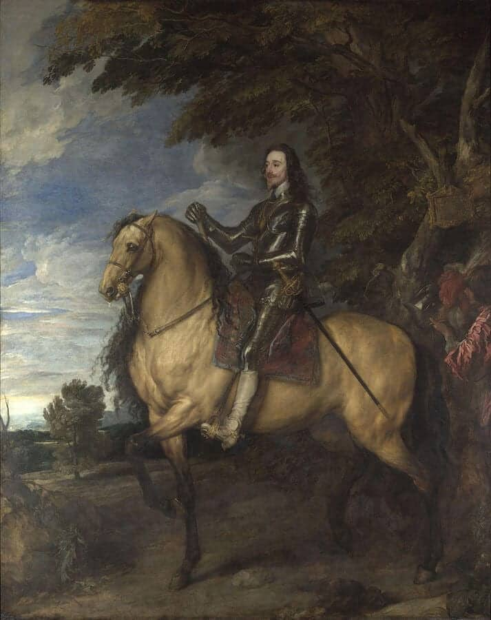 By Anthony van Dyck - http://www.nationalgallery.org.uk/paintings/anthony-van-dyck-equestrian-portrait-of-charles-i, Public Domain
