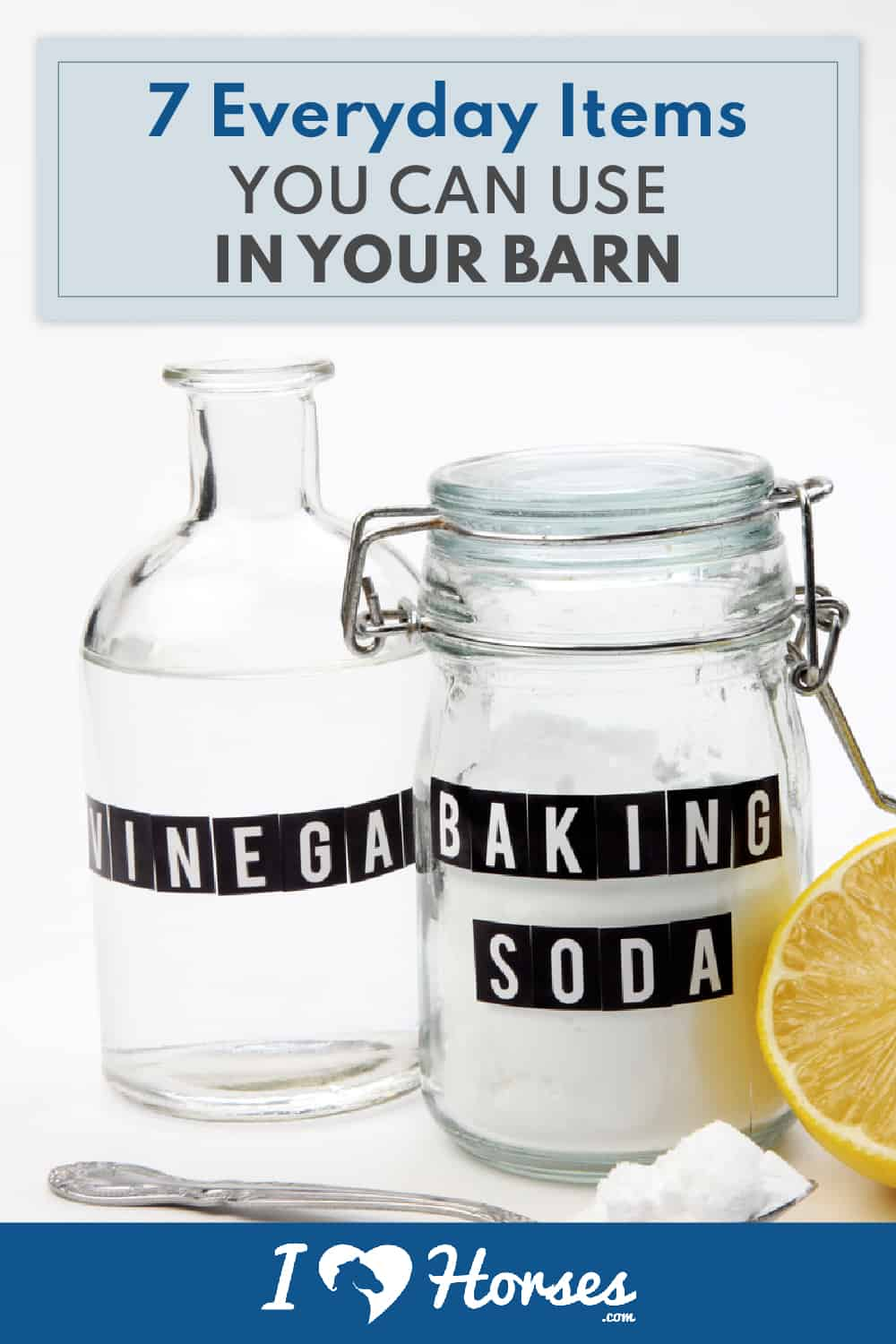 everyday items for your barn