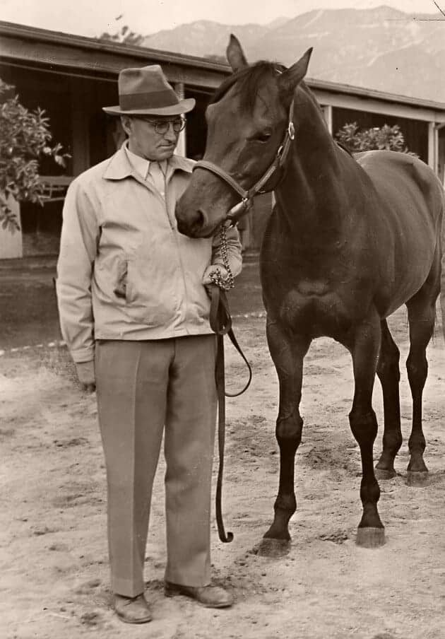 Tom Smith and Seabiscuit By Seabiscuit Heritage Foundation - Seabiscuit Heritage Foundation, Public Domain,