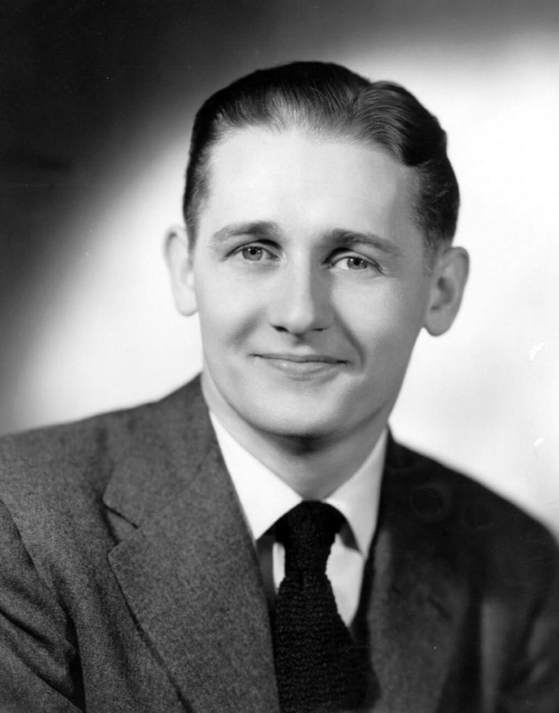 Alan Young in 1944. Public Domain