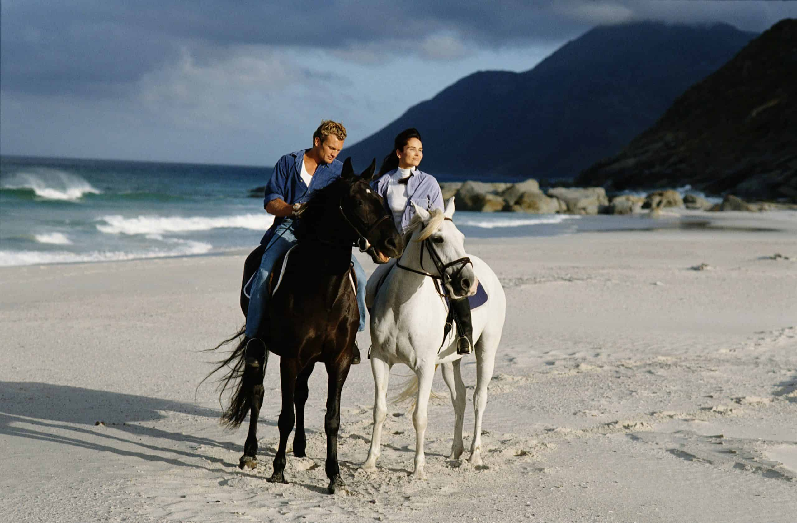horseback riding on the beach safety tips