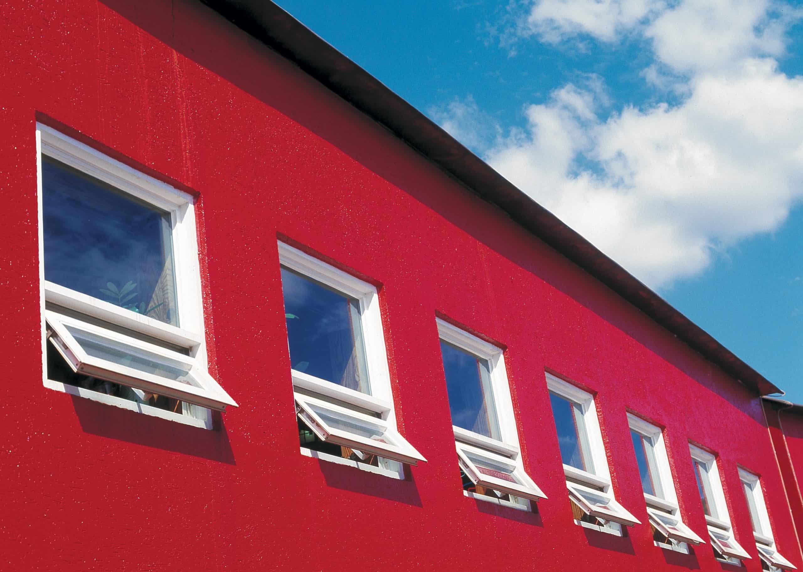 barn ventilation windows outside