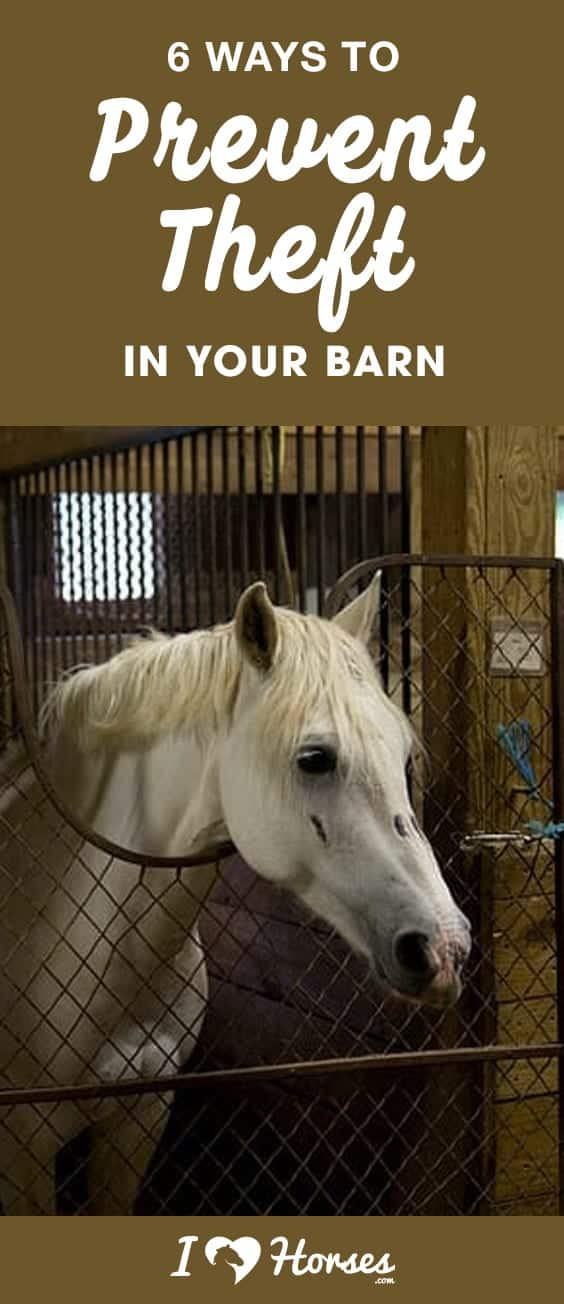prevent theft in your barn