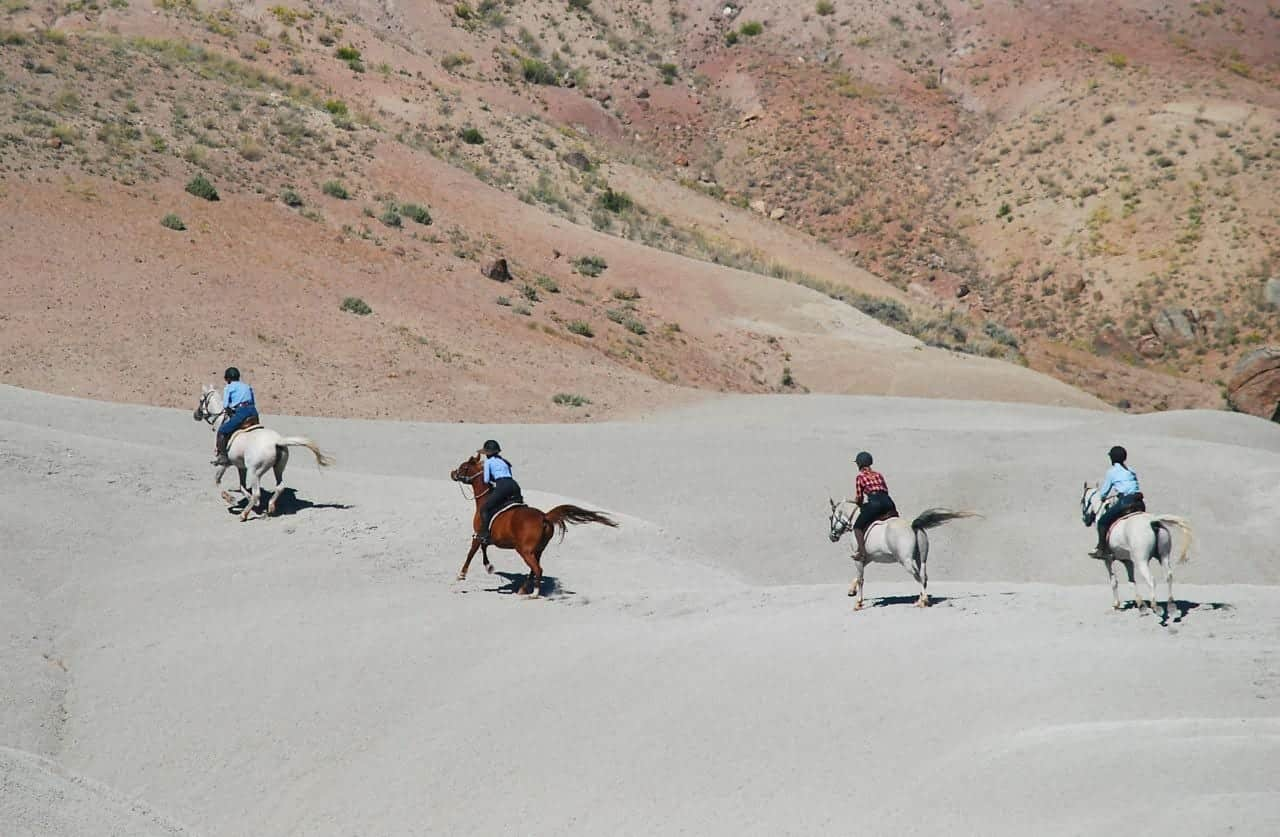 horseback riding vacation