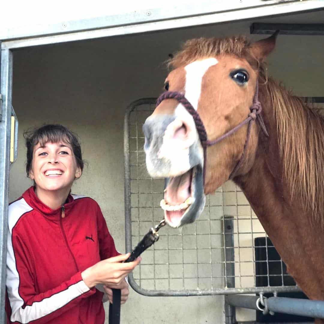 horse of the day Jazmin Sentis