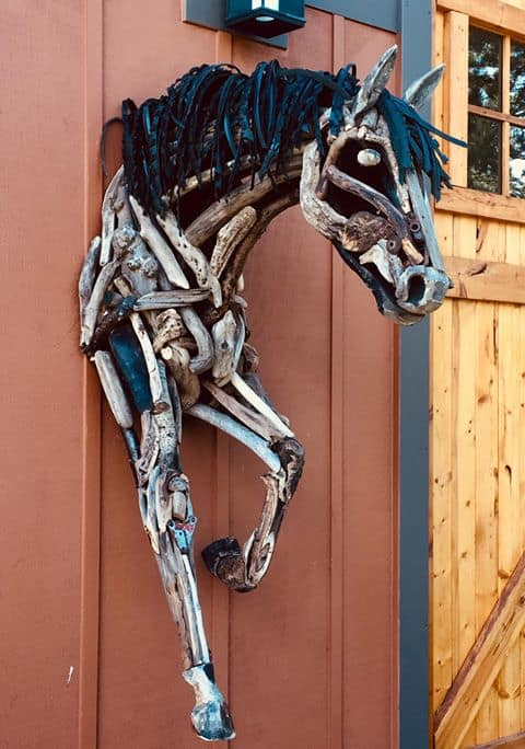 horse sculptures Monte Michener 5