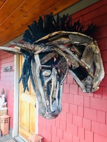 horse sculptures Monte Michener 4