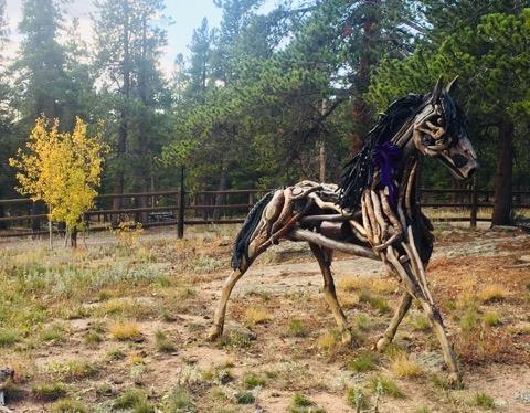 horse sculptures Monte Michener 7