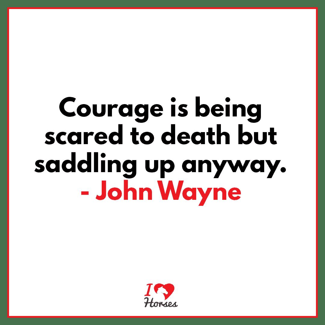 horse quote john wayne