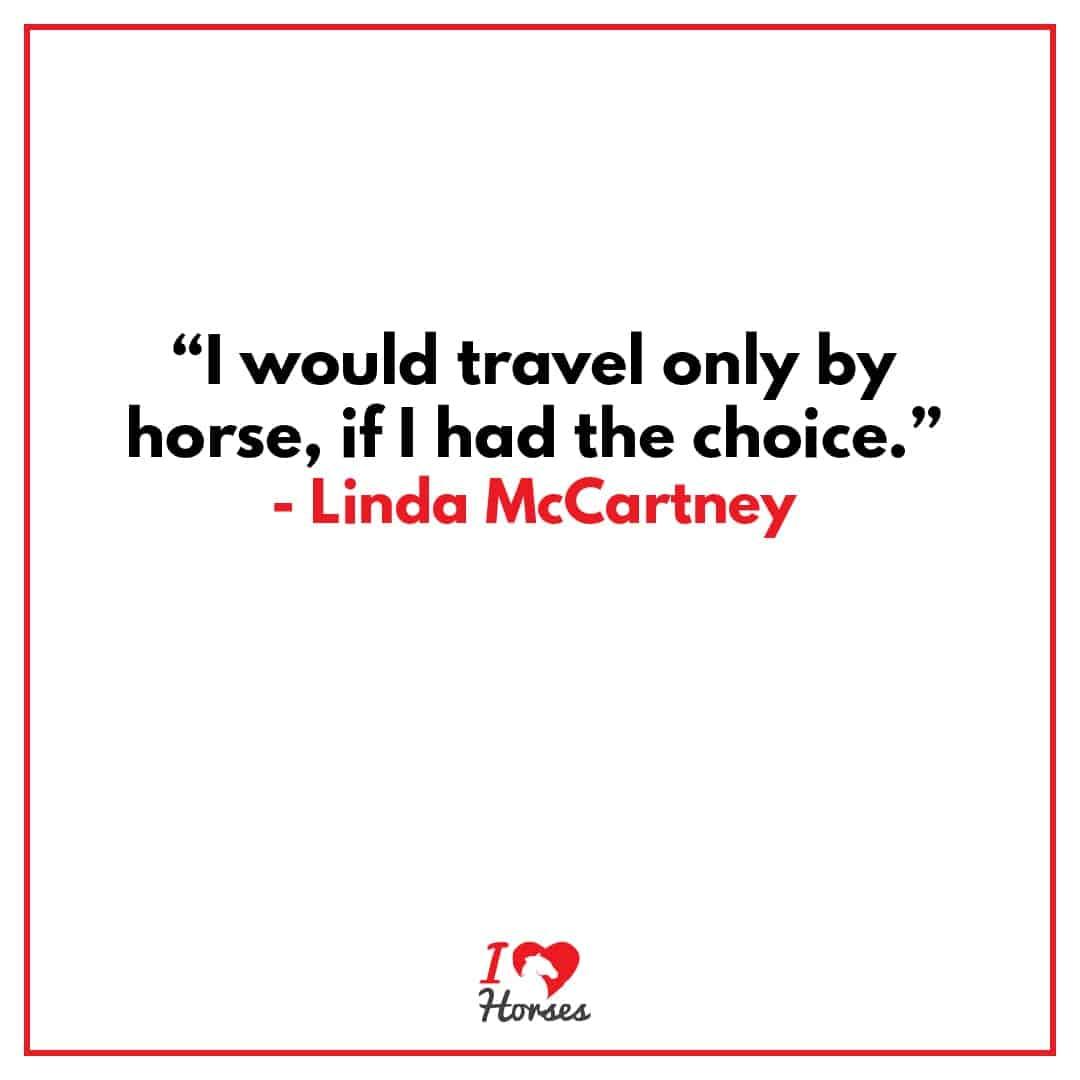horse quotes linda mccartney